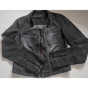 Betelgeuse Denim Moto Jacket, Brazil Street Style